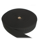 Лента ременная усиленная, 45 мм, черная