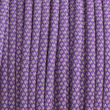 Paracord 550, super reflective 50/50 snake purple #r16026S (светоотражающий)