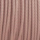 Paracord 550, super reflective 50/50 snake  light pink #r16NR097S (светоотражающий)