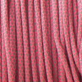 Paracord 550, super reflective 50/50 snake sofit pink X16 r16315S (светоотражающий)