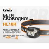 Фонарь налобный Fenix HL18R