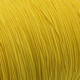 Microcord (1.4 mm), yellow pastel #419-1