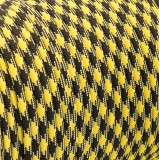 Paracord 550 black yellow camo #043