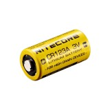 Батарейка литиевая Li-Ion CR123A / 16340 Nitecore 3V (1550mAh)