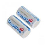 Батарея литиевая Li-Ion CR123A / 16340 3V TrustFire (1400mAh)