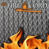 "Paracord 550 ""Flame Cord"" acu digital"