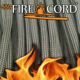 "Paracord 550 ""Flame Cord"" coyote brown"