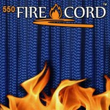 "Paracord 550 ""Flame Cord"" royal blue"