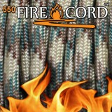 "Paracord 550 ""Flame Cord"" multicam"