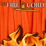 "Paracord 550 ""Flame Cord"" safety orange"