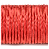 Paracord 100 red #021-2