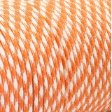 Paracord 550 orange white camo #046