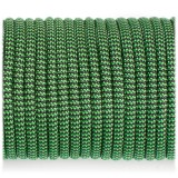 Paracord 550 black green wave #132