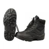 Тактические мужские ботинки MIL-TEC SECURITY HALBSTIEFEL Black