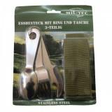 Набор столовых приборов MIL-TEC M.RING S/STEEL 3-TLG.M.TASC OD