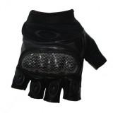 Перчатки Oakley беспалые Carbone Black