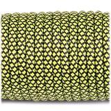 Paracord 550 fluor green snake #264
