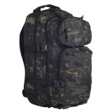 Рюкзак штурмовой Mil-Tec LazerCut (Multitarn Black, 20 л.)