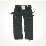 Брюки SURPLUS PREMIUM VINTAGE TROUSERS Black