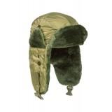 Шапка-ушанка лёгная зимняя N3B Аляска Crew Olive