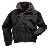 Куртка тактическая демисезонная 5.11 Tactical 5-in-1 Jacket Black