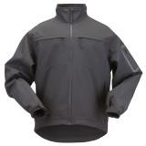 Куртка тактическая для штормовой погоды 5.11 Tactical Chameleon Softshell Jacket Black