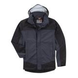 Куртка тактическая для штормовой погоды 5.11 Tactical TacDry Rain Shell Charcoal