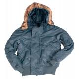 Куртка зимняя лётная N2B Аляска Navy