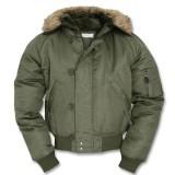 Куртка зимняя лётная N2B Аляска Olive