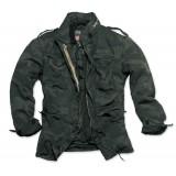 Куртка со съемной подкладкой SURPLUS REGIMENT M 65 JACKET Black Camo