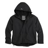 Куртка анорак SURPLUS ZIPPER WINDBREAKER Black