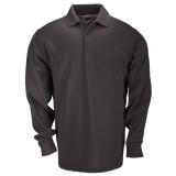 Футболка Поло тактическая с коротким рукавом 5.11 Tactical Professional Polo - Long Sleeve Black