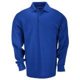 Футболка Поло тактическая с коротким рукавом 5.11 Tactical Professional Polo - Long Sleeve Blue