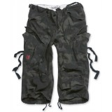 Шорты SURPLUS ENGINEER VINTAGE 3/4 Black camo