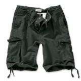 Шорты SURPLUS VINTAGE SHORTS WASHED Black