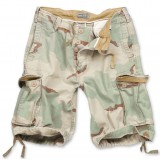 Шорты SURPLUS VINTAGE SHORTS WASHED 3 color desert