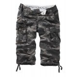 Шорты SURPLUS TROOPER LEGEND 3/4 black camo