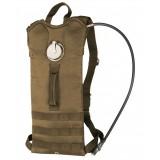 Рюкзак с гидросистемой BASIC WATER PACK WITH STRAPS (3 литра), Coyote