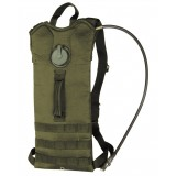 Рюкзак с гидросистемой BASIC WATER PACK WITH STRAPS (3 литра), Olive