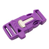 """5/8"""", фиолетовый, со свистком и огнивом, ровный, фастекс пластиковый"""