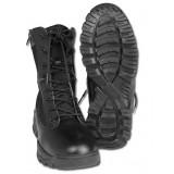 Ботинки тактические 2 молнии Black