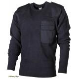Пуловер BW акриловый (Blue) - (Max Fuchs)