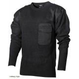 Пуловер BW акриловый (Black) - (Max Fuchs)