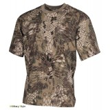 Камуфлированная футболка (Snake FG) - (Max Fuchs)