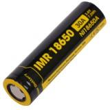 Аккумулятор литиевый Li-Ion IMR 18650 Nitecore 3.7V (2000mAh)