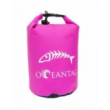 Водонепроницаемая сумка Oceantag Pink 15L