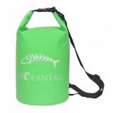 Водонепроницаемая сумка Oceantag Green 15L