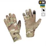M-Tac перчатки флис Winter Tactical Windblock, multicam