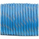 Paracord 550, reflective X3 ocean blue #r3337 (светоотражающий)