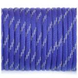 Paracord 550, reflective X3 royal blue #r3376 (светоотражающий)